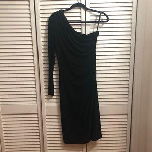 LAUREN Ralph Lauren One Shoulder Dress